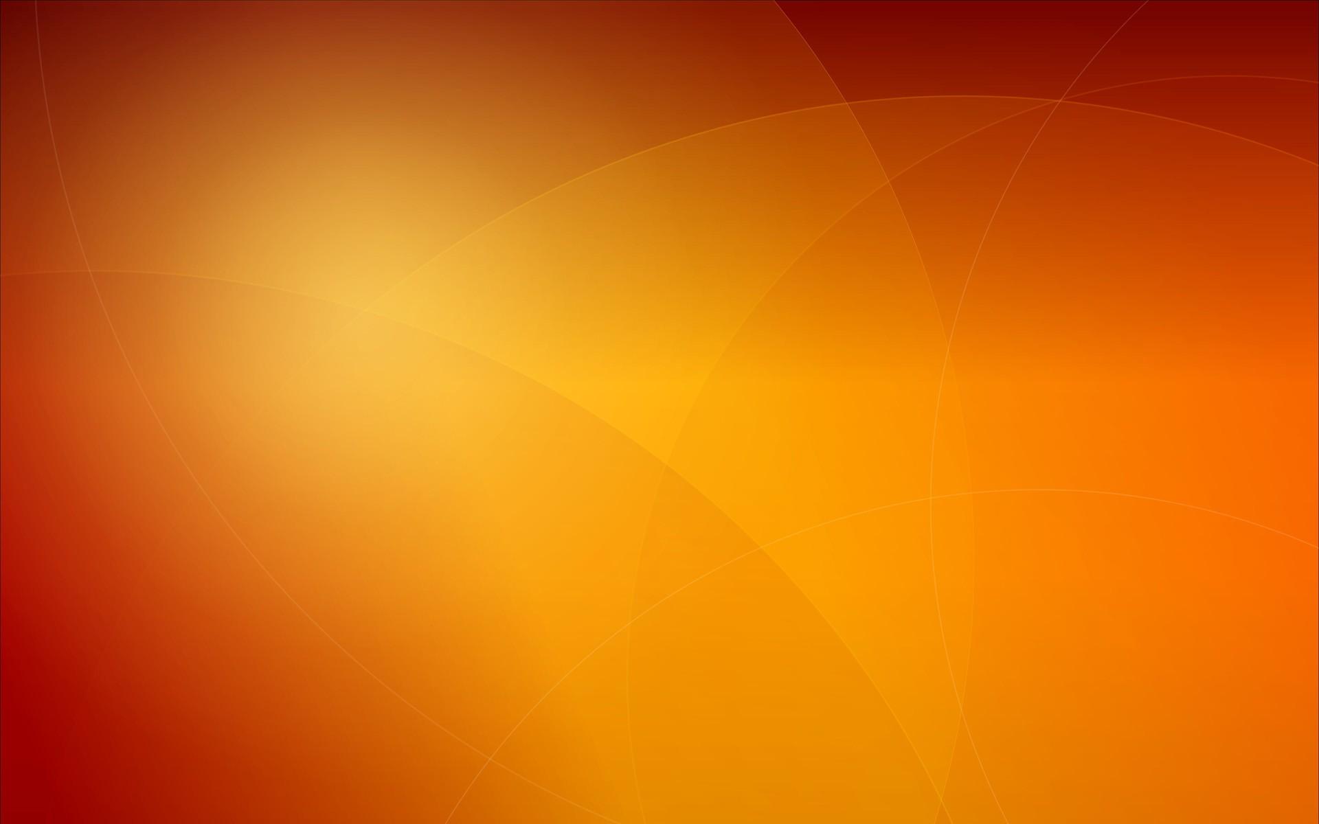 Orange Background Vector Wallpaper 1920x1200