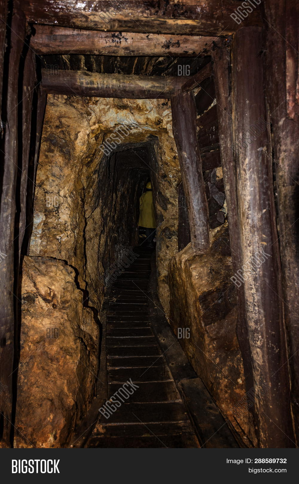 Old Mine Shaft Wooden Image Photo Trial Bigstock 1000x1620