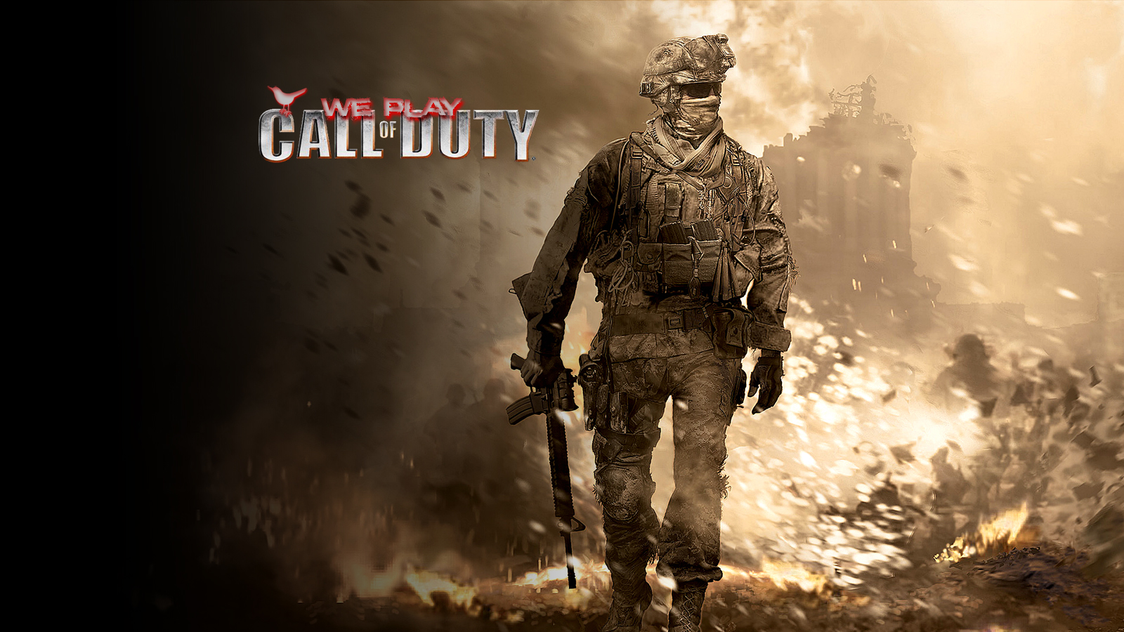 Free Download Wallpapers Mw2weplaycod Mw2 Cod Waw And Weplaycod