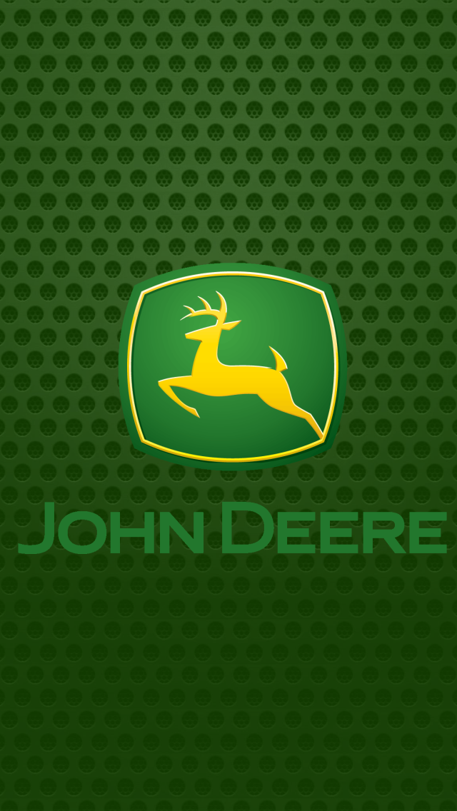 John Deere logo iPhone 5 Wallpaper 640x1136 640x1136