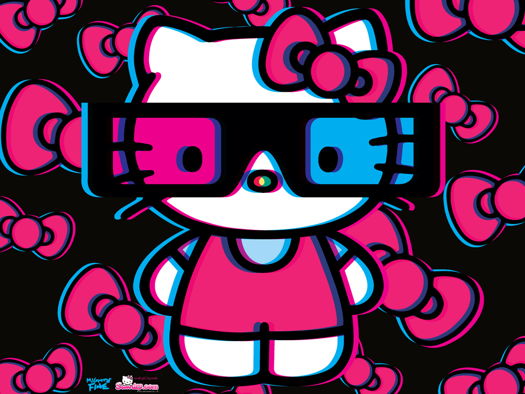 wallpapers HD Hello kitty Wallpapers 1024x768