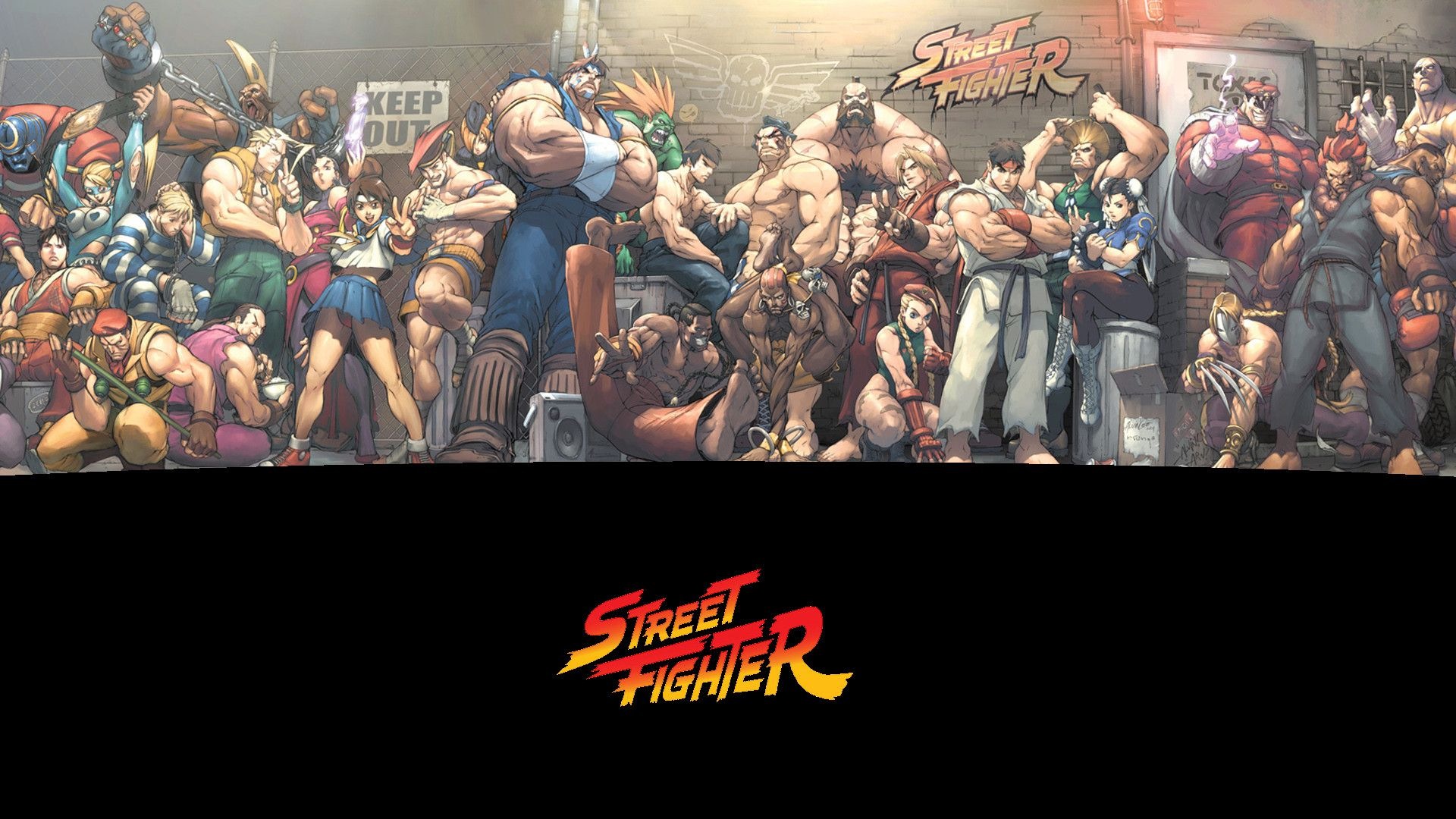 71 Street Fighter Wallpaper Hd On Wallpapersafari