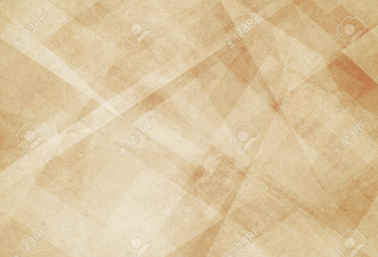 Abstract Light Brown Background With White Triangle Pattern Stock 1300x884