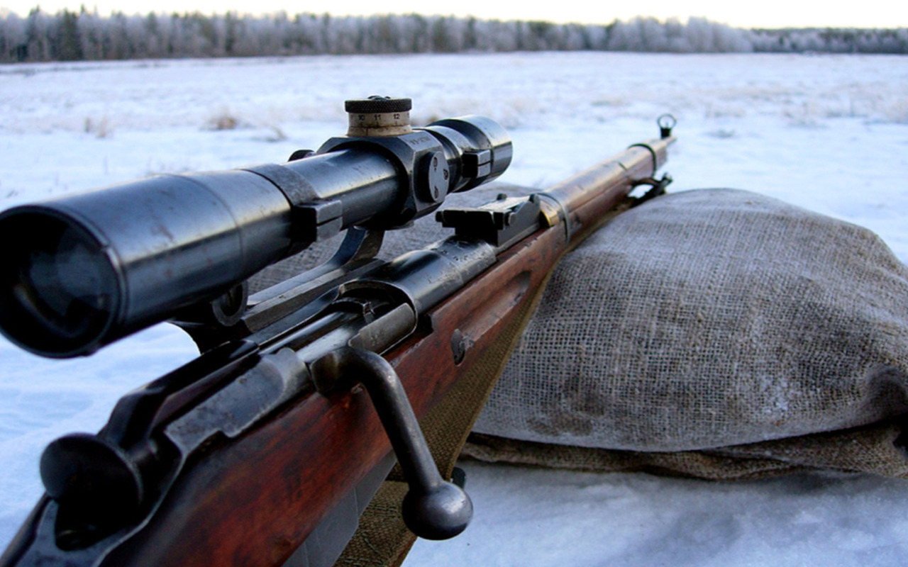 Sniper rifle wallpaper 15019 1280x800