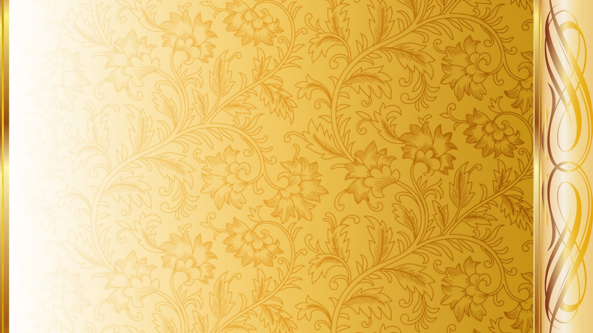 White and Gold wallpaper 2048x1152 82354 2048x1152