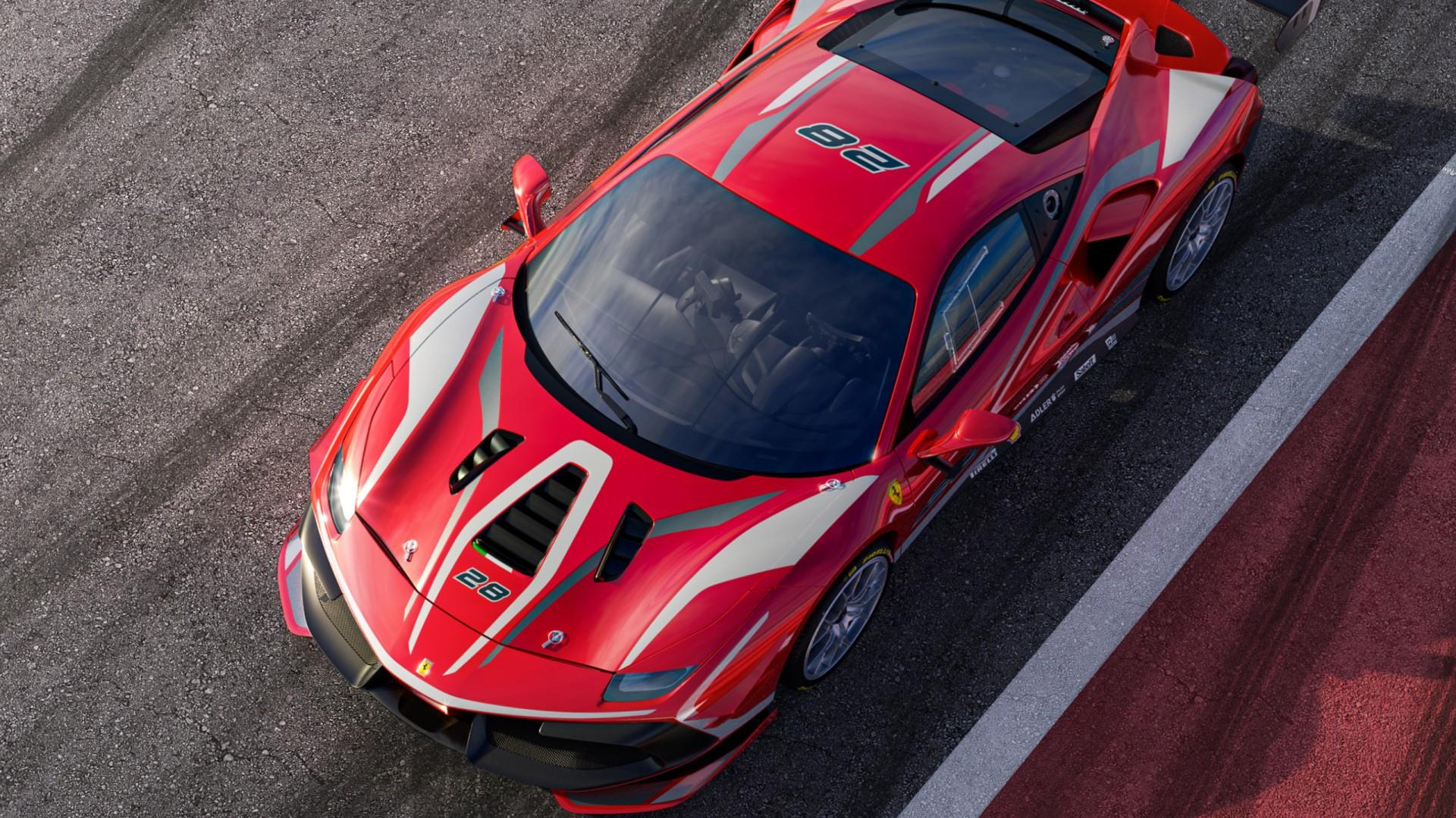 Ferrari 488 Challenge Evo 2020 Wallpaper HD Car Wallpapers ID 1920x1080