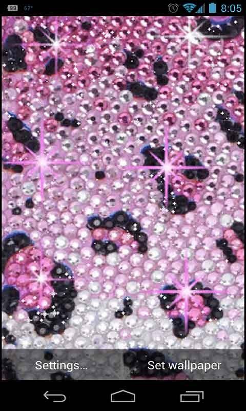 Cheetah Spot Bling Live Wallpaper Android Live Wallpaper download 480x800