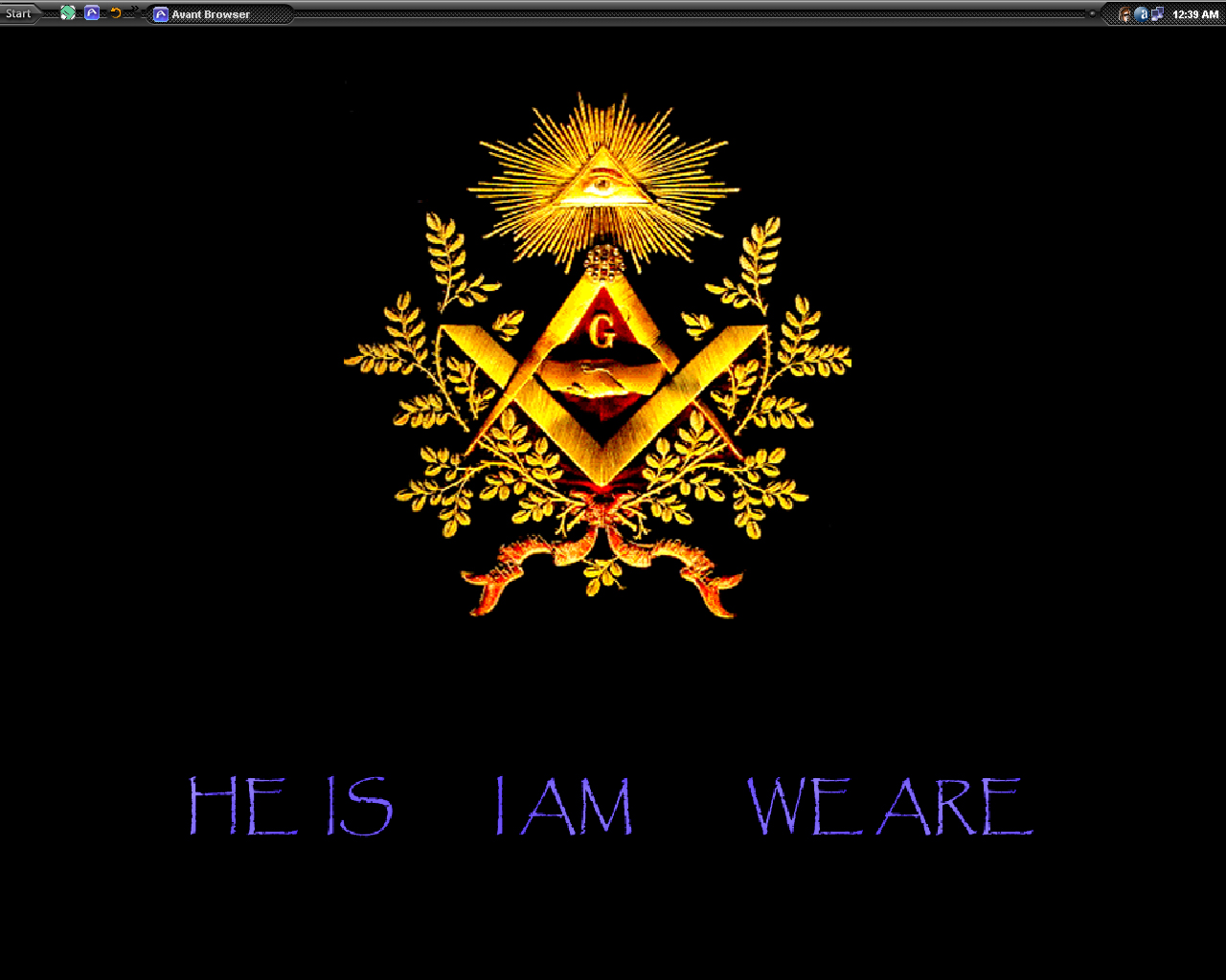 Freemason Symbol Wallpaper Freemason xp by davader 1280x1024
