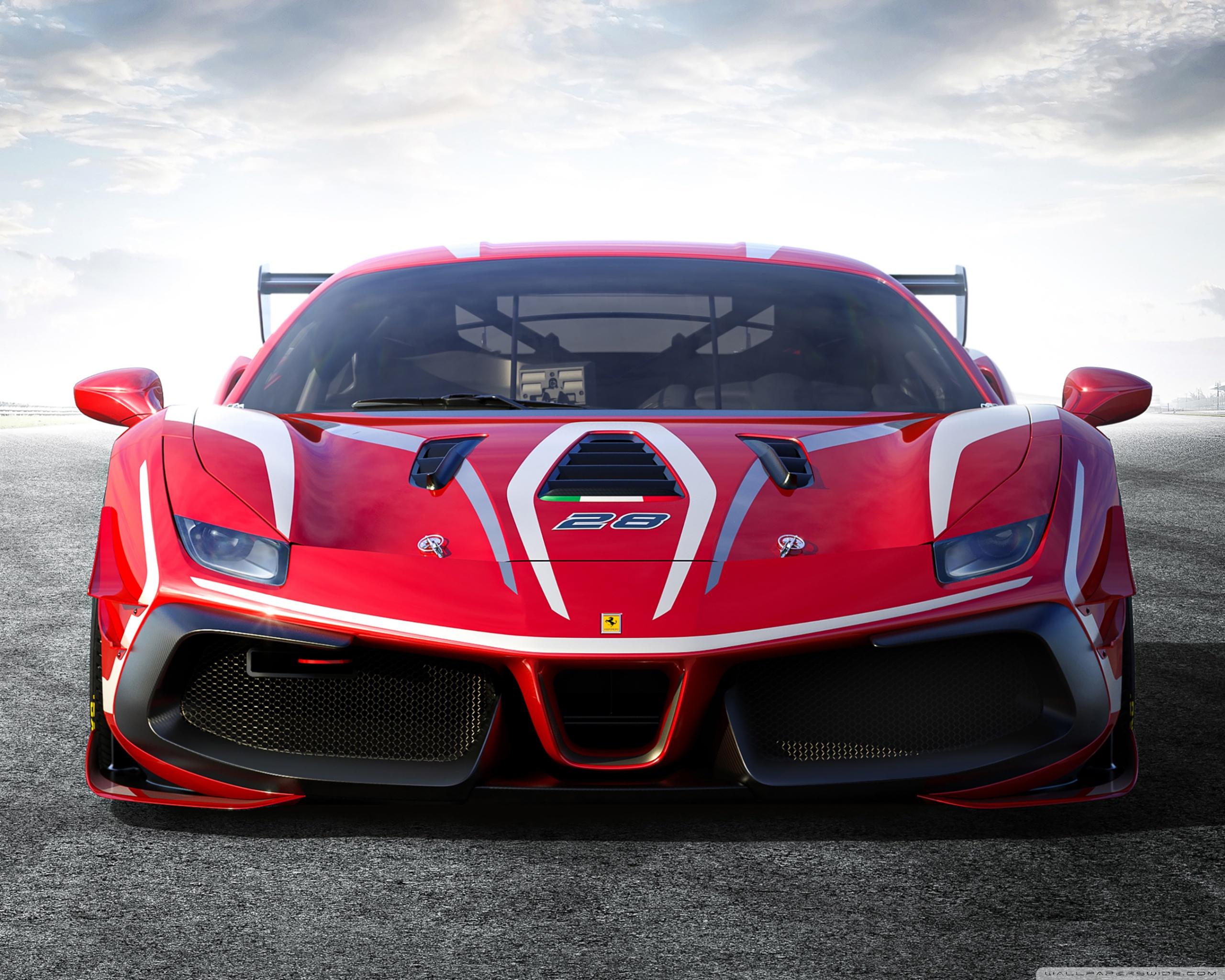 Ferrari 488 Challenge Evo Race Car 2020 Ultra HD Desktop 2560x2048