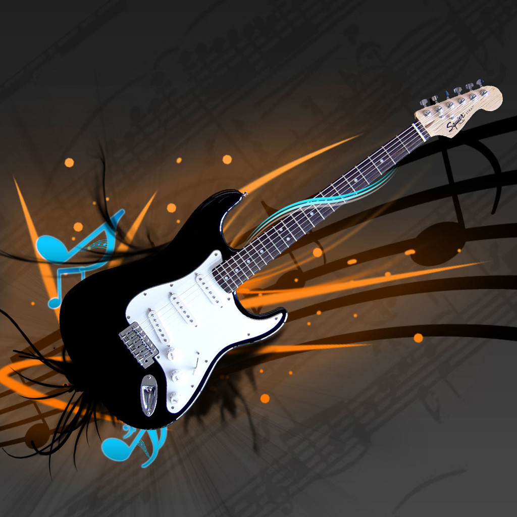 Gallery For Cool Guitar Background