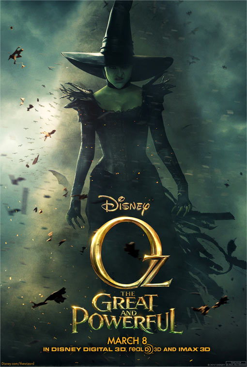 new poster shows green hued wicked witch   but who plays her 510x756