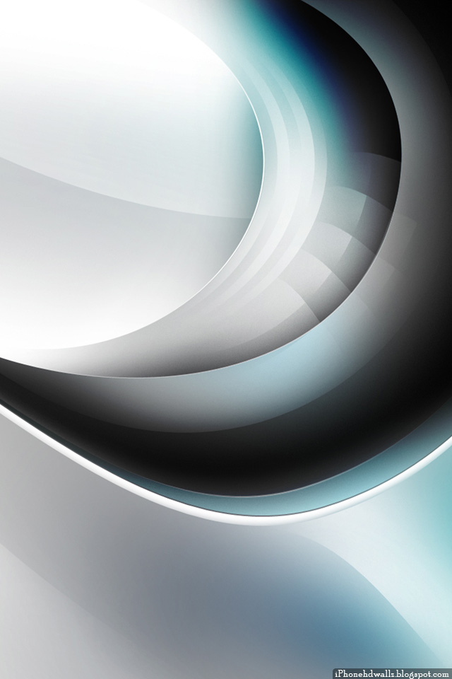 Cool Silver Awesome Abstract iPhone Wallpaper HD 640x960