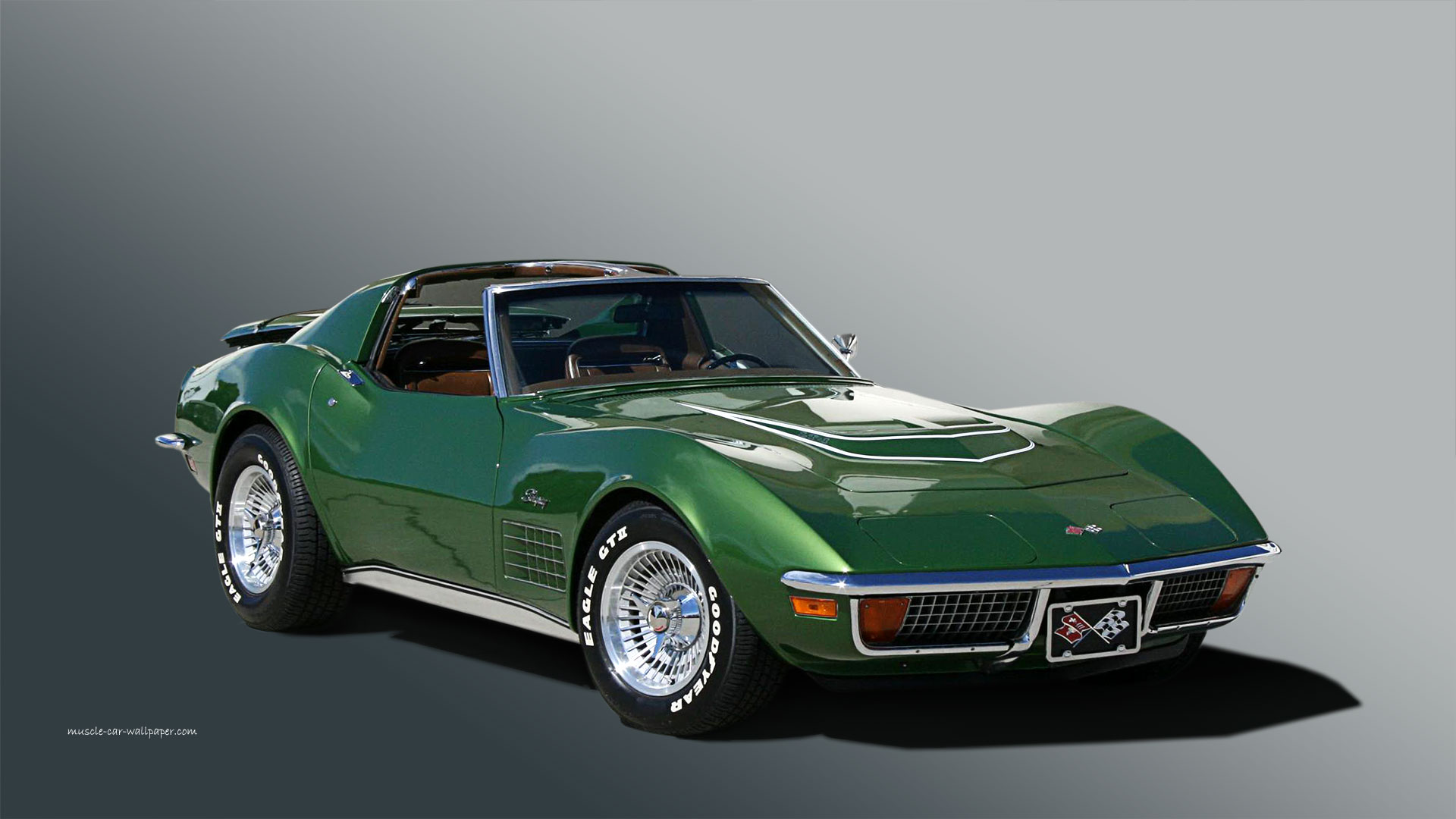 Corvette Wallpaper, 1972 - Right Side View | 1920_08