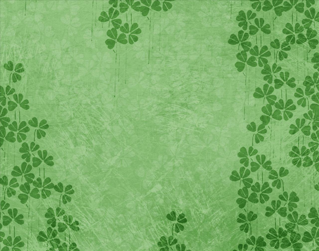 Irish Clover Background Celtic shamroc 1280x1007