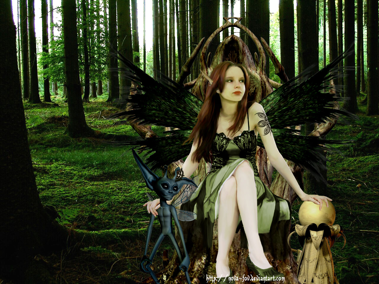 Amy Brown Art Wallpaper Fae  tribute to amy brown by 1280x960