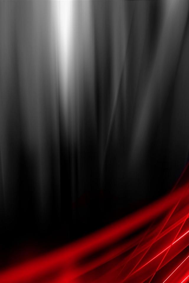 640x960 Black Red Vista Iphone 4 wallpaper 640x960