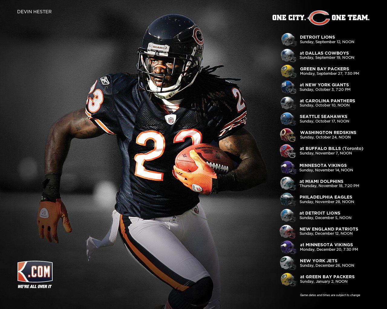 Chicago Bears Desktop Wallpapers 1280x1024