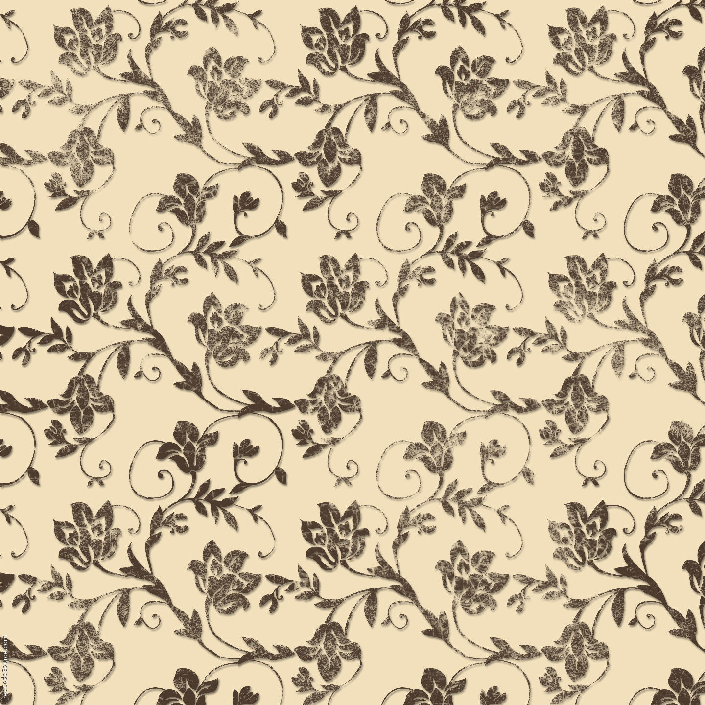 Vintage Flower Designs All Wallpapers New 1440x1440