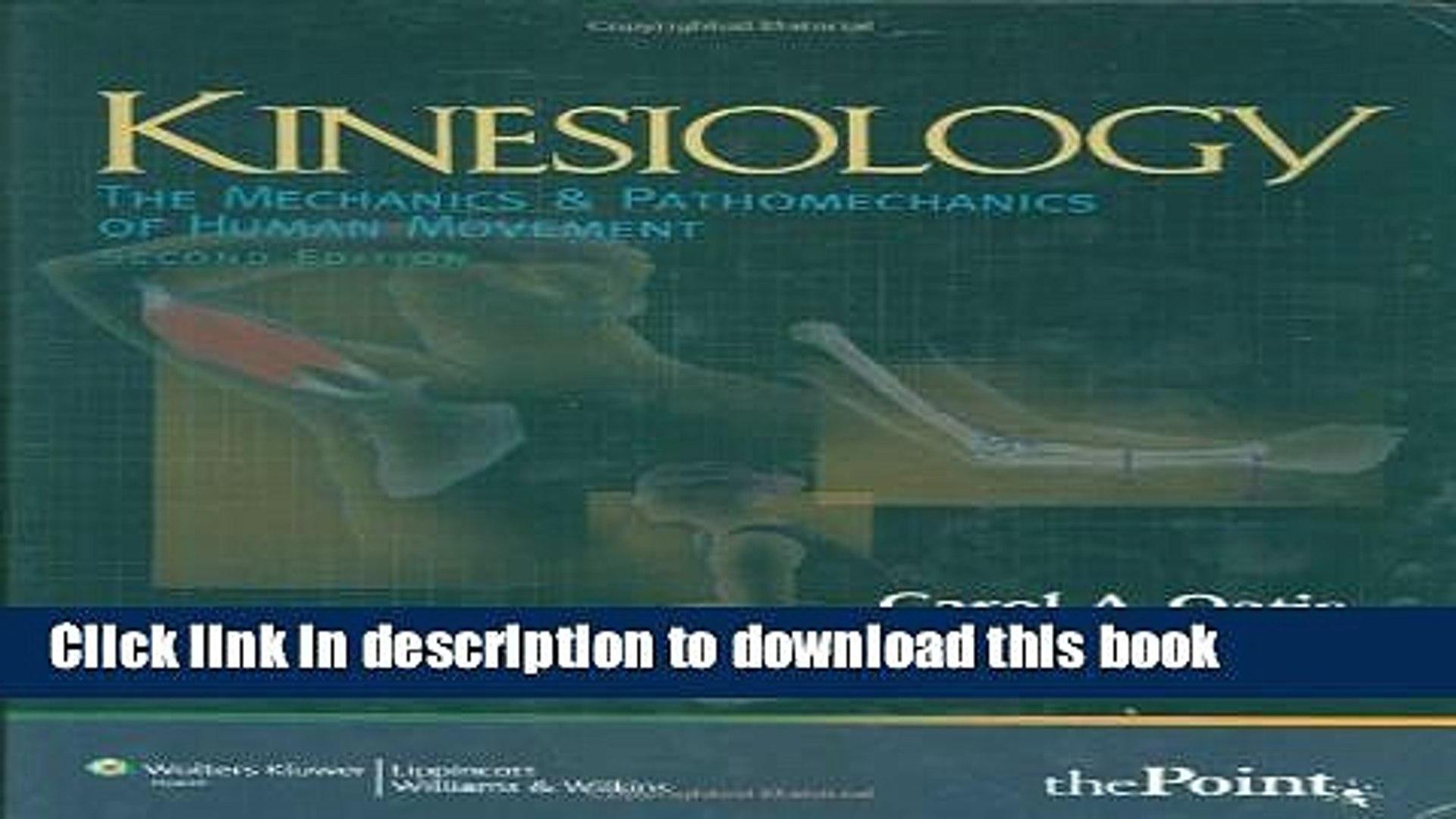 Download] Kinesiology The Mechanics and Pathomechanics of Human 1920x1080