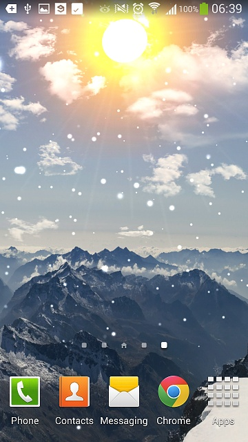 FREE] Winter Mountain Live Wallpaper screenshot 2014 04 18 06 39 44 360x640