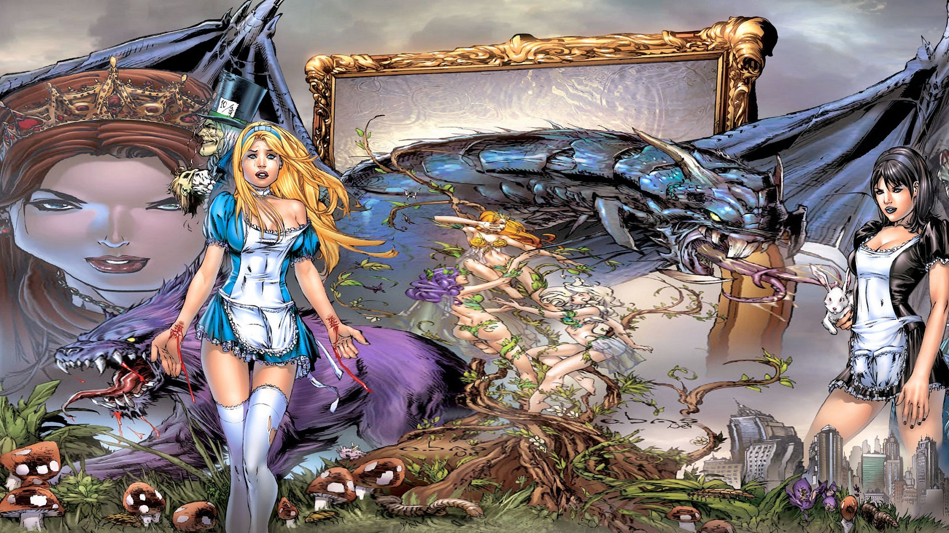 Grimm Fairy Tales Full HD Wallpaper and Background Image 1920x1080