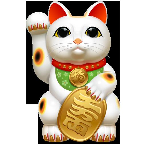 Japanese Lucky Cat Tattoos Maneki Neko Tattoo Pictures 512x512
