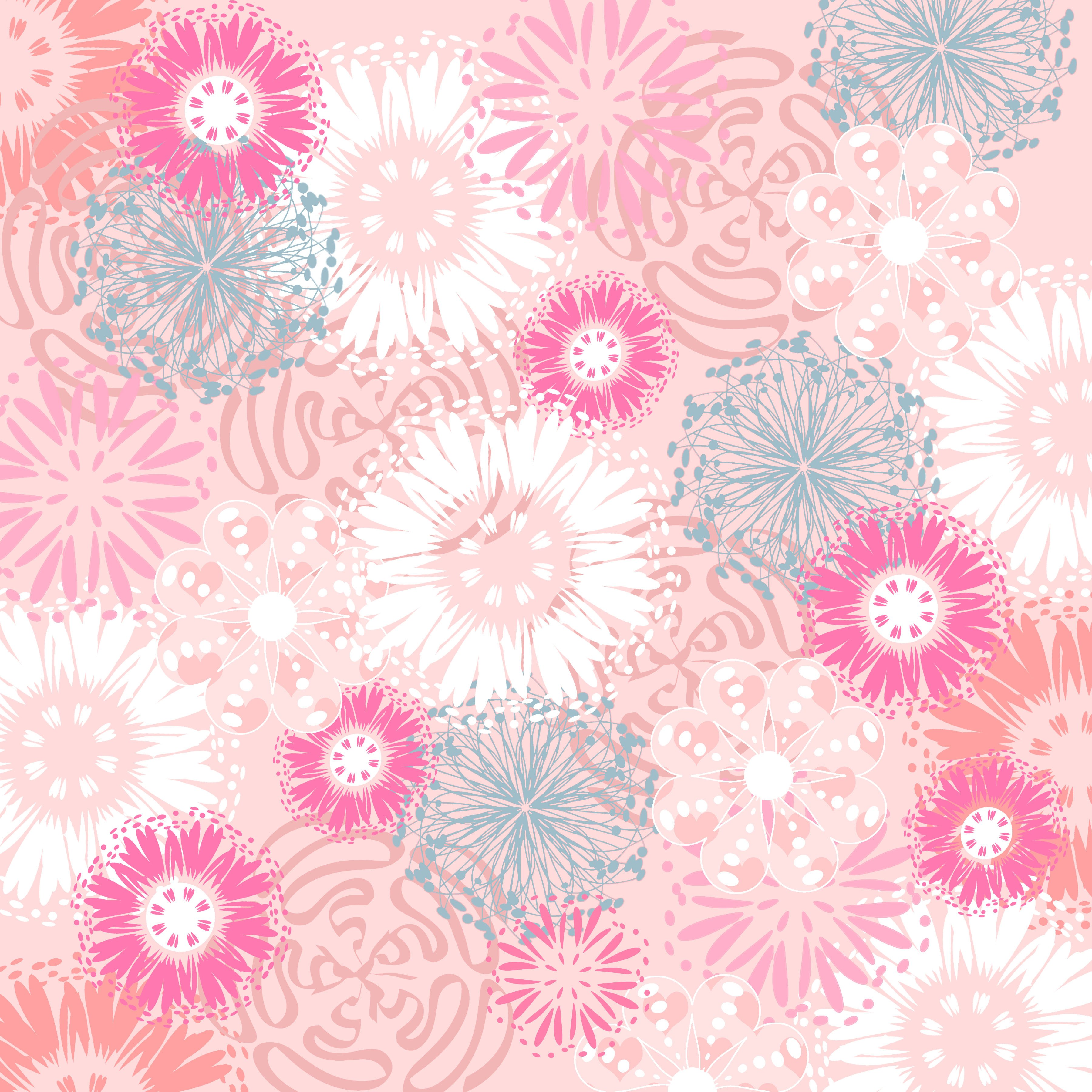 73 free pink backgrounds on wallpapersafari - Scrapbook background free printables ...