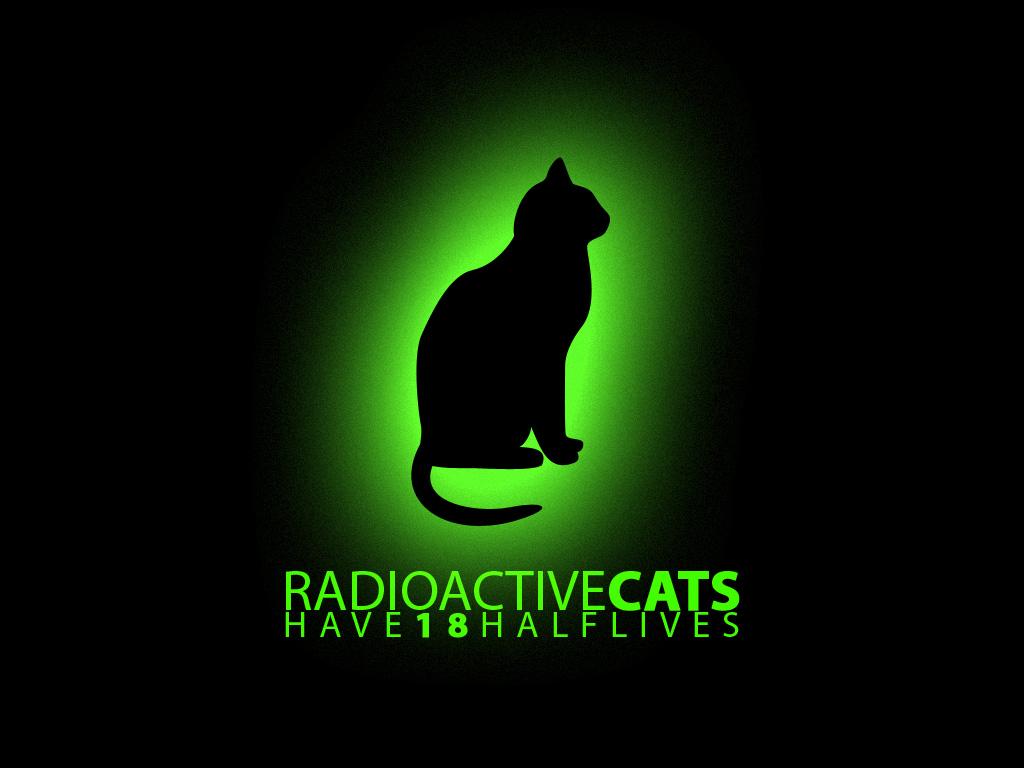 aperture laboratories radioactive cats HD Wallpaper of Games 1024x768