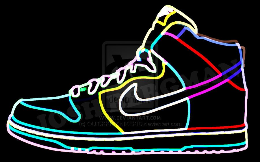 Download Neon Nike Sign Wallpaper Nike Neon Light Dunk By 900x561