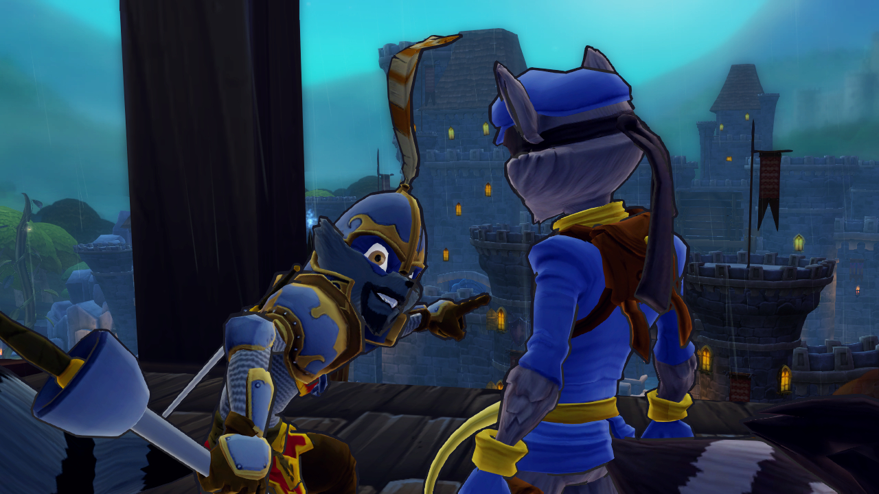 Sly Cooper Thieves in Time video game wallpapers Wallpaper 136 of 1280x720