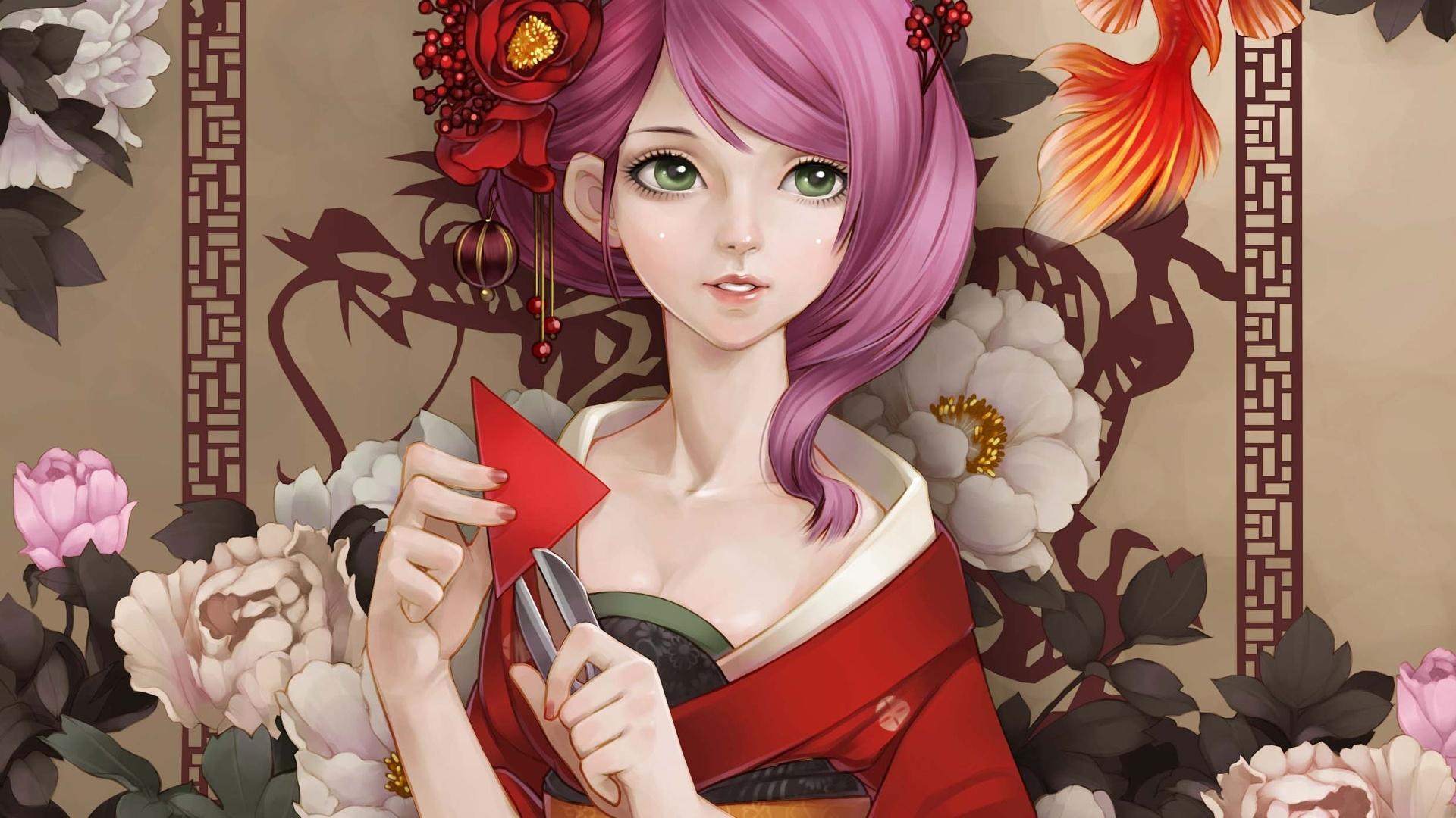 Geisha wallpaper   798353 1920x1080