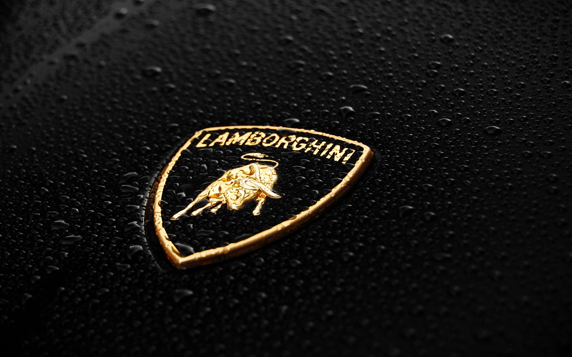 Lamborghini Logo Wallpaper HD Car Wallpapers 1920x1200