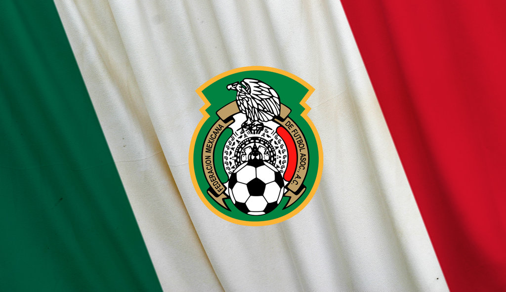 Mexico Soccer Logo Wallpaper Mexico logo flag by w00den 1024x591