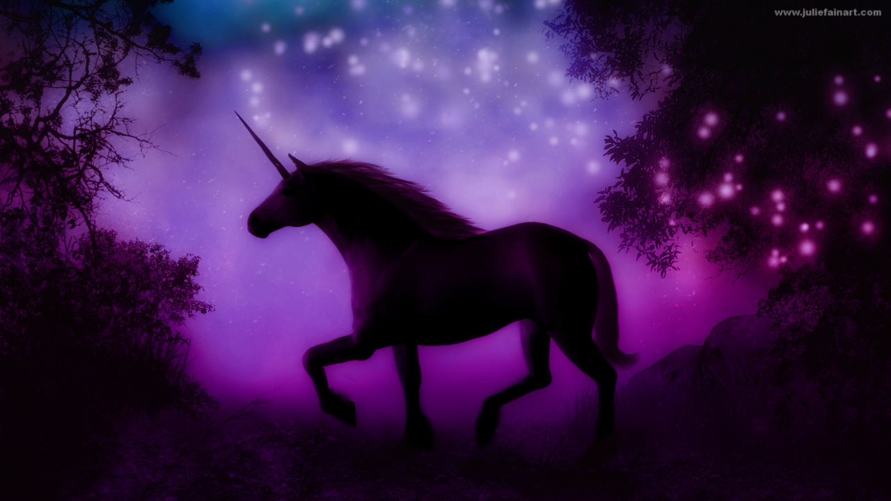 My Downloads FREE UNICORN SCREENSAVERS 1280x720