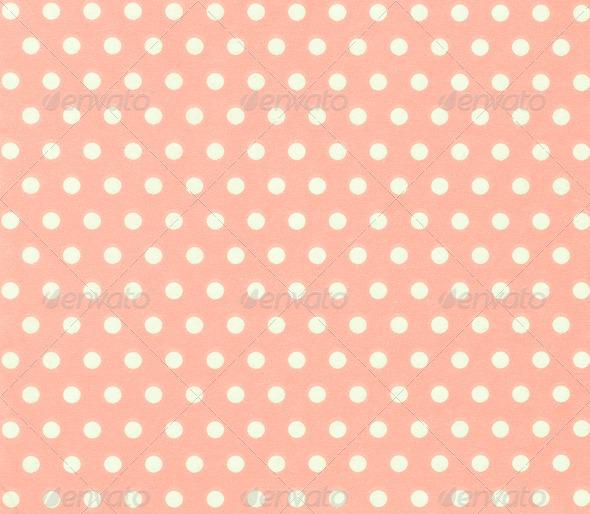 soft pinkred polka dot background white circles on colored 590x514