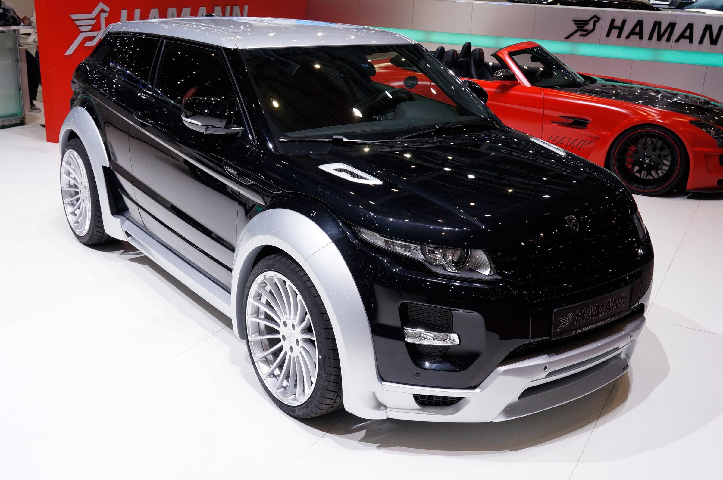 2012 Hamann Range Rover Evoque suv tuning q wallpaper background 2400x1595