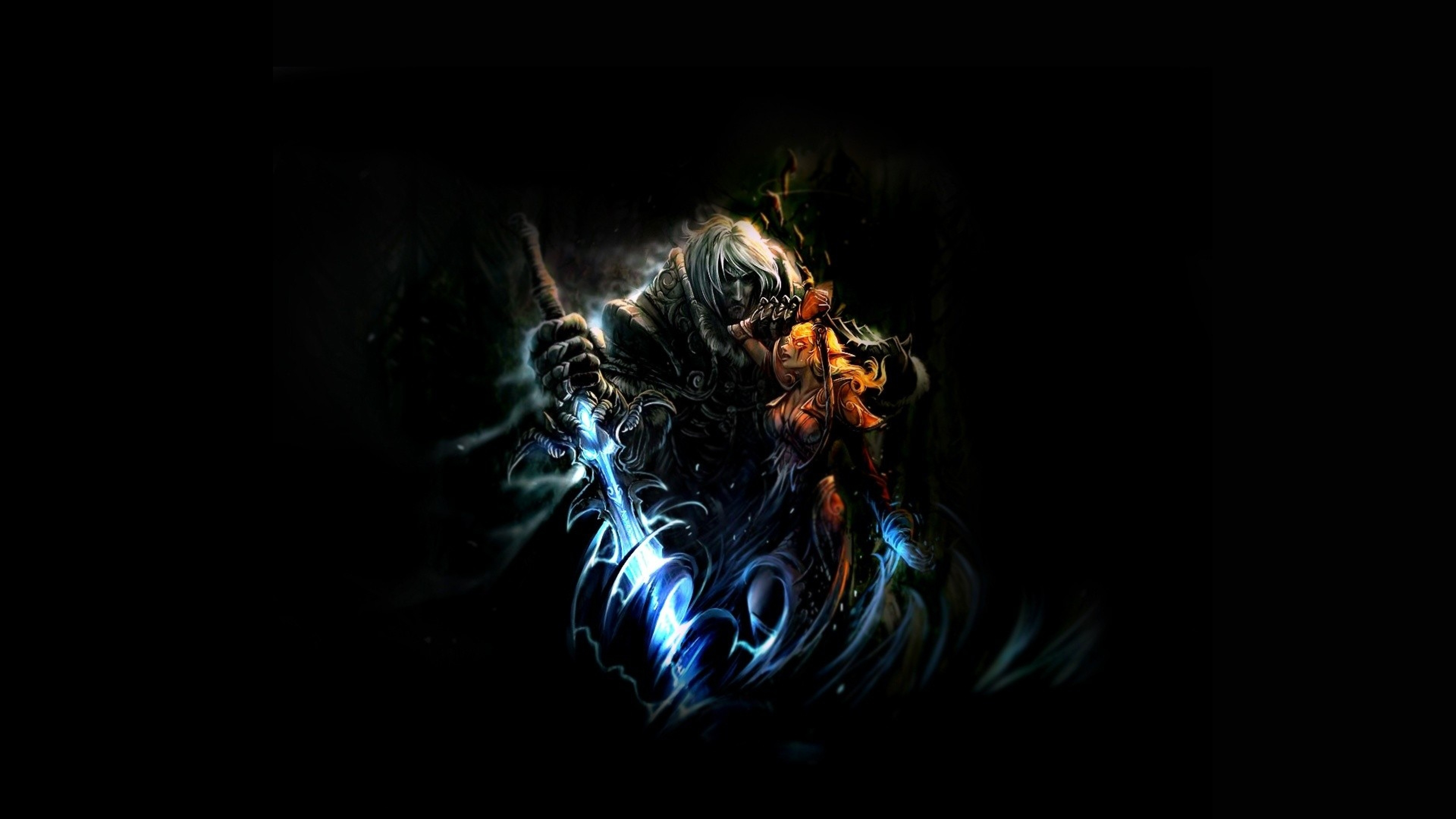 3840x2160 Wallpaper world of warcraft character background graphics 3840x2160