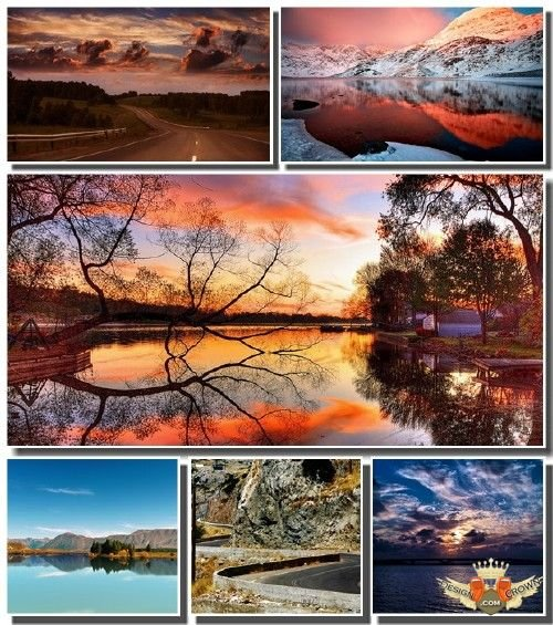Fabulous nature wallpapers 2012 with landscape views   mountains 500x565