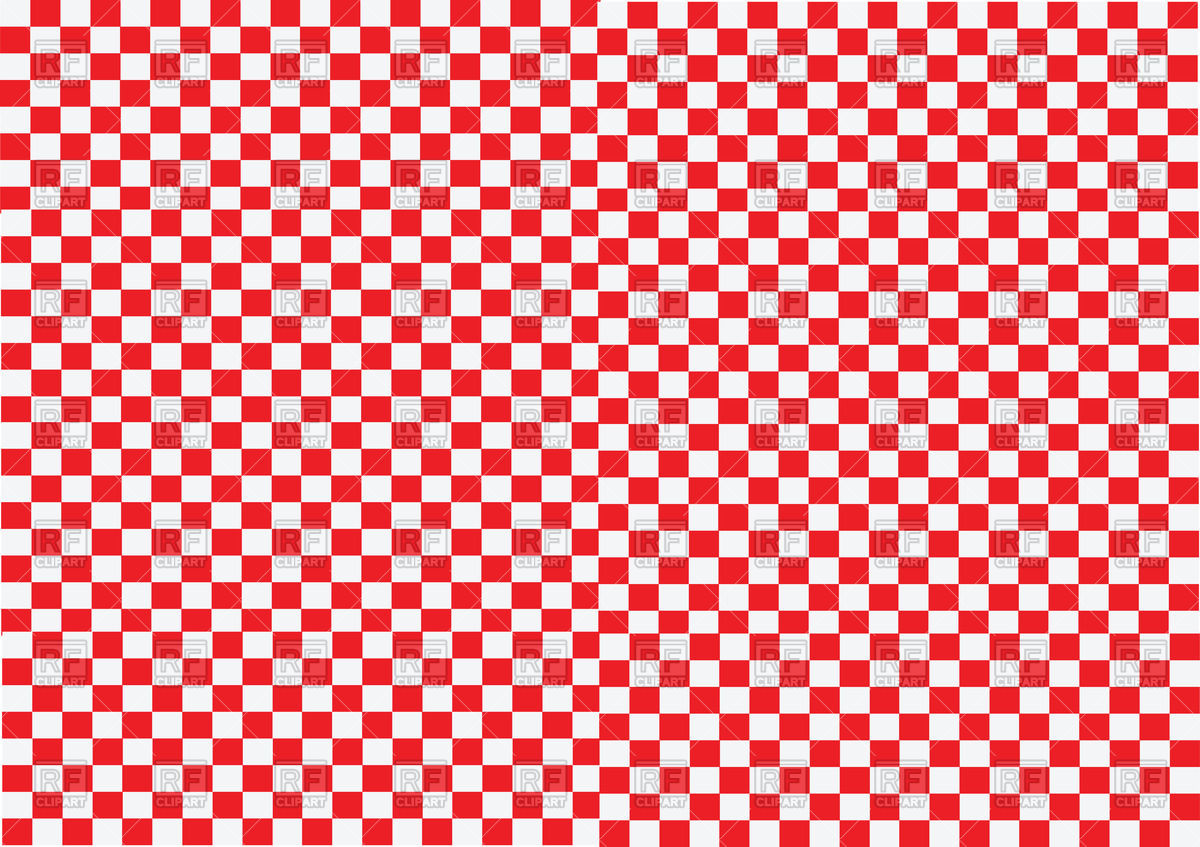 Red and White Checkered Wallpaper