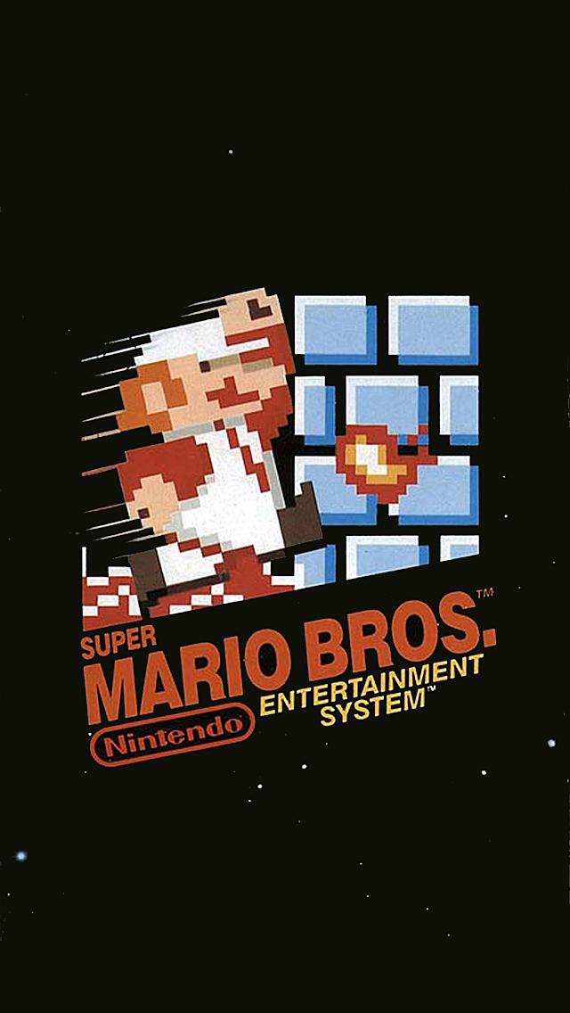 Super Mario Brothers iPhone 5 Wallpaper 640x1136 640x1136