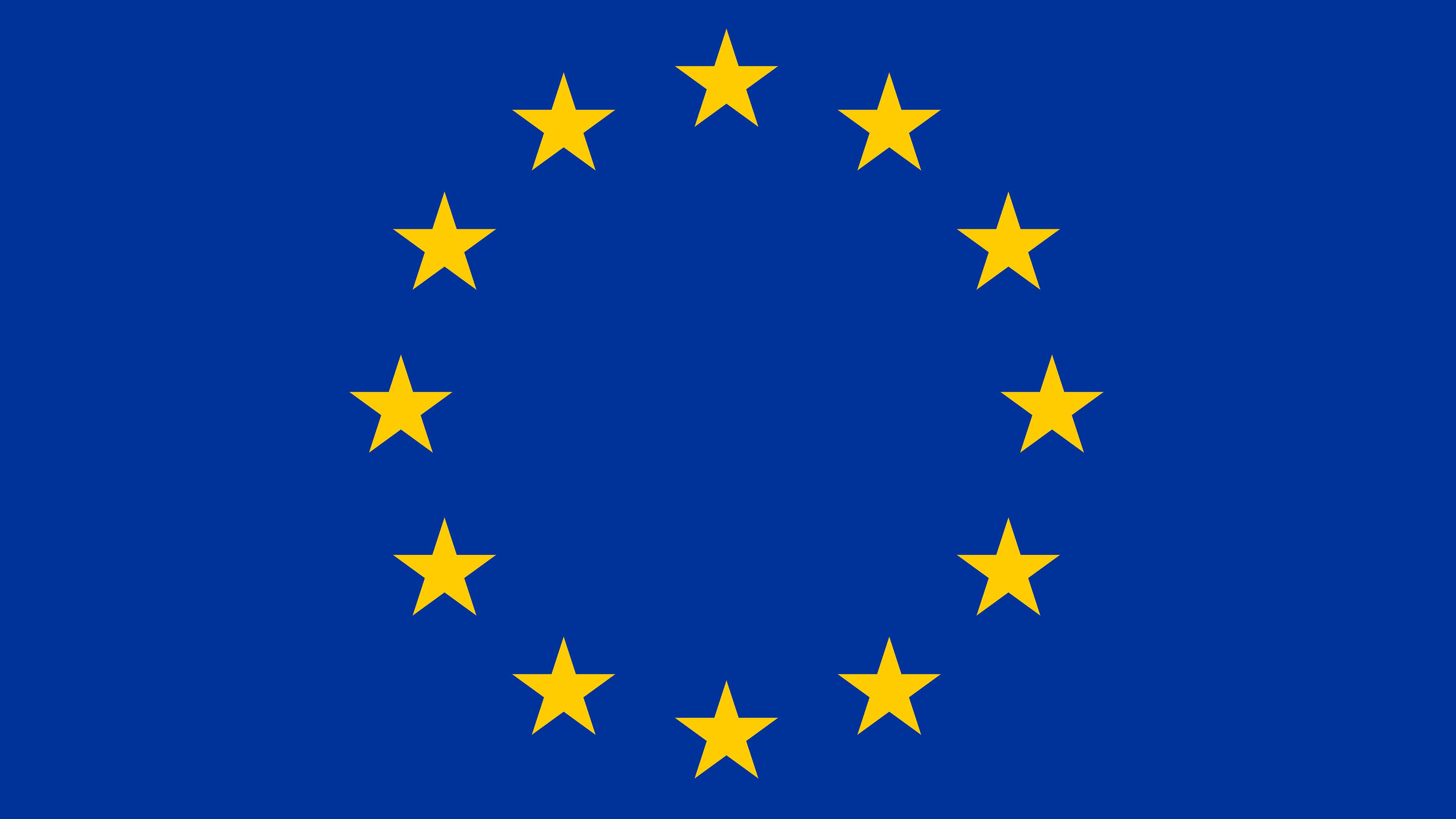 Europe Flag UHD 4K Wallpaper Pixelz 3840x2160