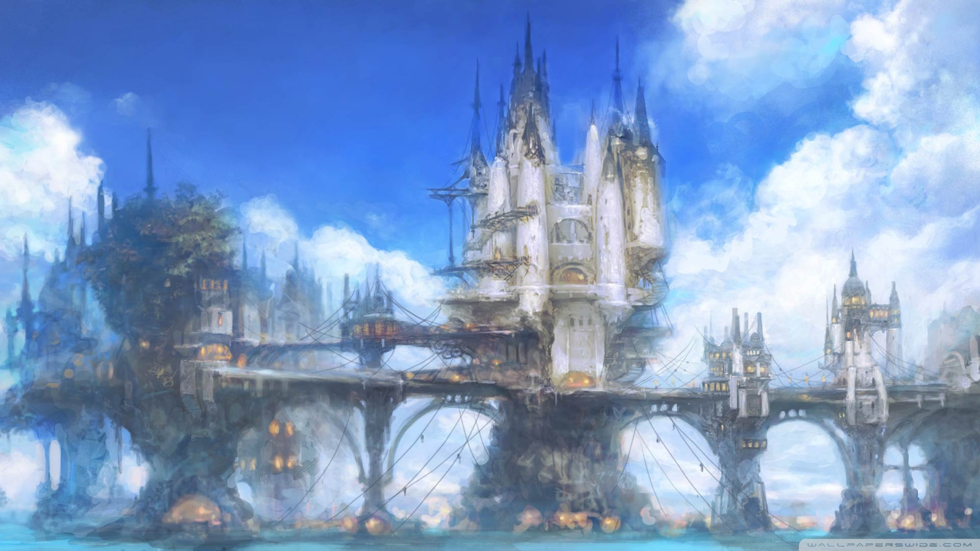 Final Fantasy Backgrounds