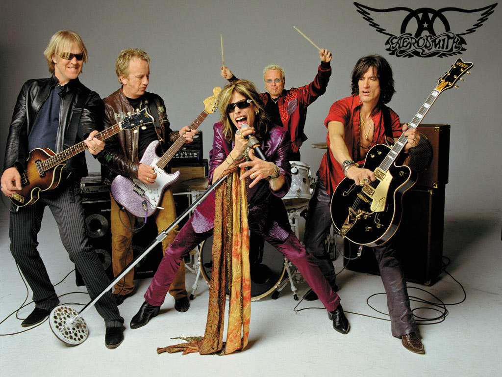 Rock Band Wallpapers Aerosmith Wallpapers 1024x768
