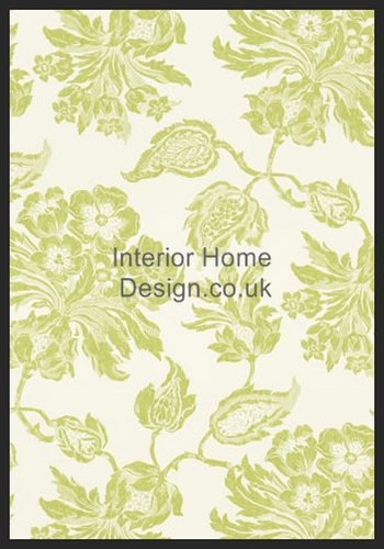 Thibaut Wallpaper   Richmond Wallpaper   Helena T4106 Lime Green 350x500