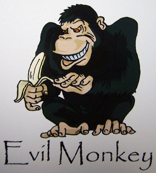 Pin The Evil Monkey Wallpaper Cartoon Wallpapers 5901 on Pinterest