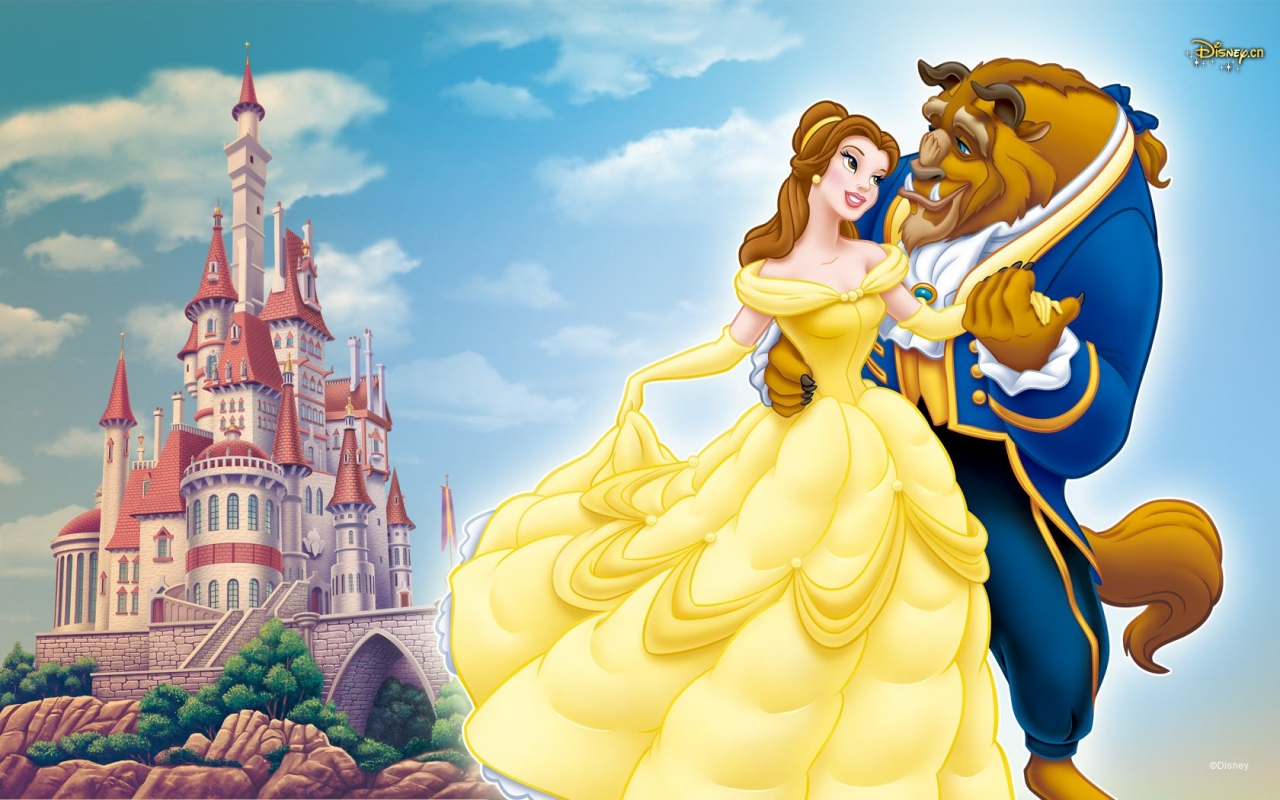 Beauty Beast disney princess wallpaper wallpapers backgrounds 1280x800