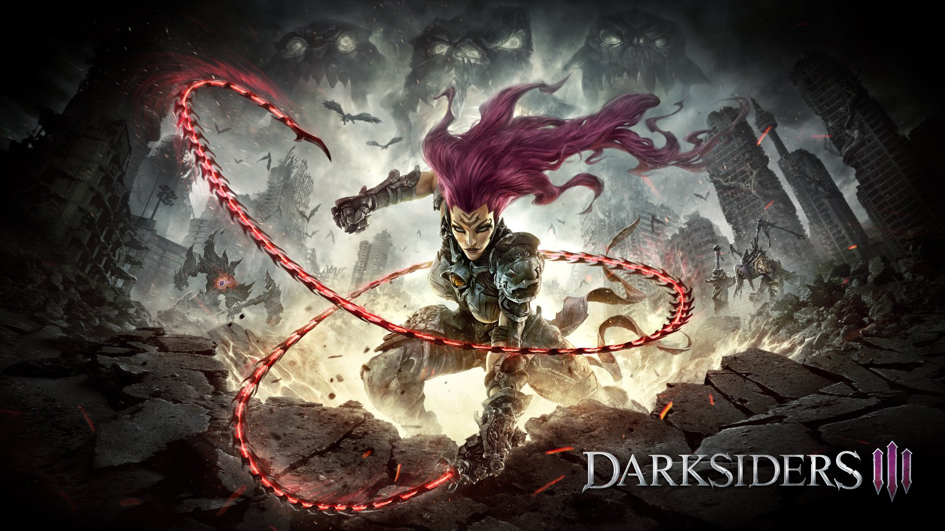 14 Darksiders III HD Wallpapers Background Images 1920x1080