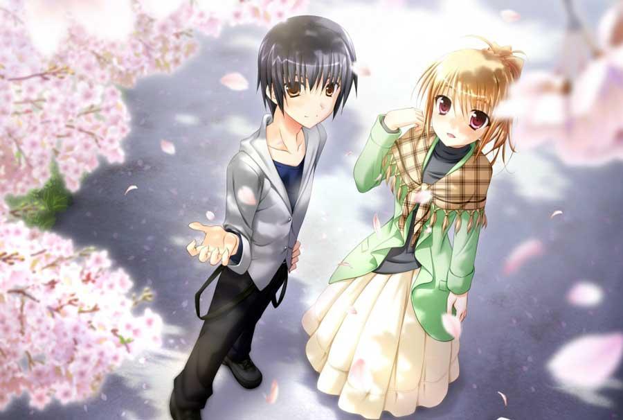 Cute Anime Couples Wallpapers Wallpapersafari
