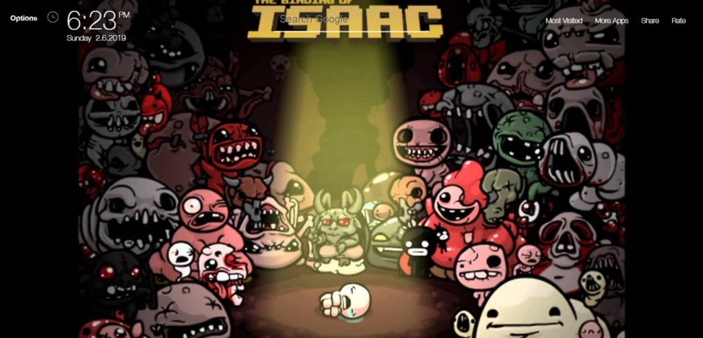 The Binding of Isaac Rebirth Game Wallpapers HD   New Tab Theme 1024x493