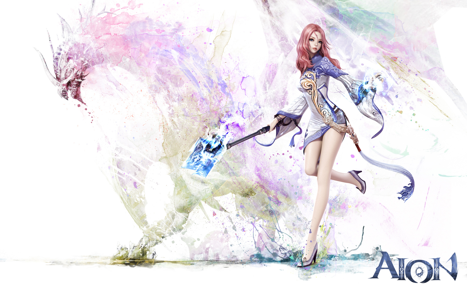 Aion Game Girl Wallpapers HD Wallpapers 1920x1200